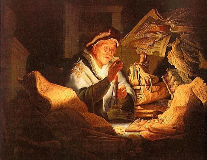 Rembrandt and The Money Changer